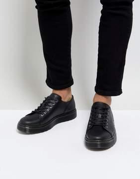 Dr. Martens Dante Straw Grain Leather 6-Eye Shoes