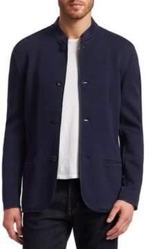 Giorgio Armani Guru Jacquard Jersey Jacket