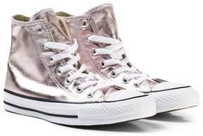 Converse Pink Junior Chuck Taylor All Star Hi-Tops