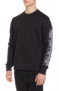 Eleven Paris Men's Elevenparis Meace Fleece Sweatshirt