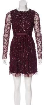 Needle & Thread Sequined Mini Dress w/ Tags