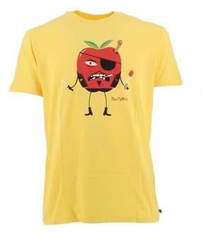 Paul Frank Men's Yellow Cotton T-shirt.