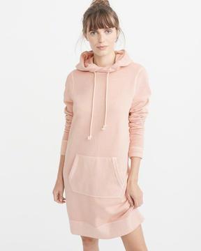 Abercrombie & Fitch Garment Dye Sweatshirt Dress