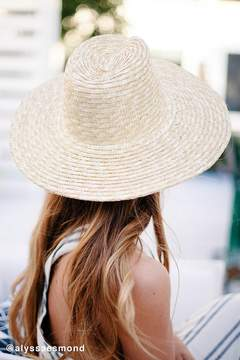 Urban Outfitters High Crown Straw Panama Hat