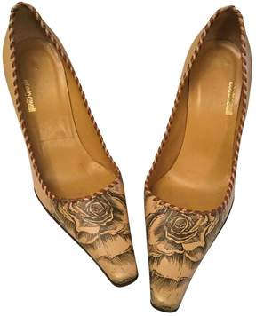 Roberto Cavalli Leather heels
