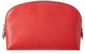 Louis Vuitton Coquelicot Epi Leather Cosmetic Pouch.