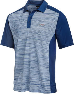 Greg Norman For Tasso Elba Men's Heathered Colorblocked Polo, Created for Macy's