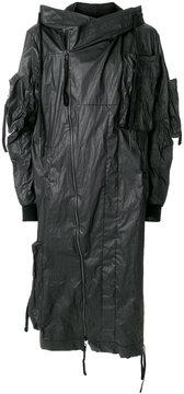 Barbara I Gongini long wind-breaker coat