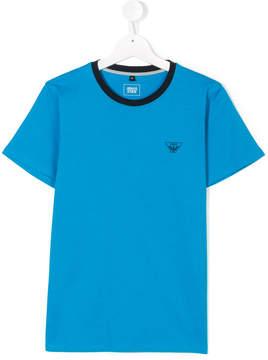 Emporio Armani Kids TEEN chest logo T-shirt
