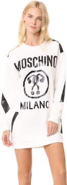 Moschino Logo LS Dress