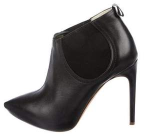 Rupert Sanderson Leather Pointed-Toe Booties