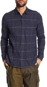 Jeremiah Dillon Pucker Twill Plaid Shirt