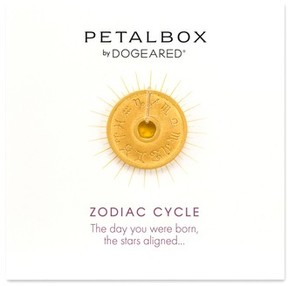 Dogeared Women's Petalbox Zodiac Enhancer (Nordstrom Exclusive)