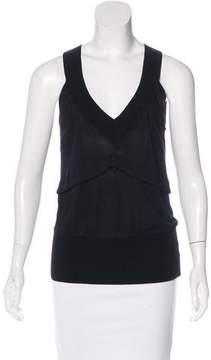 CNC Costume National sleeveless V-Neck Top