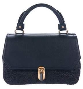 Oscar de la Renta Sequin Sloane Handle Bag