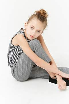 Forever 21 Girls Striped Tank Top (Kids)