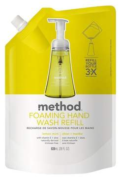 Method Products Foaming Hand Soap Refill Lemon Mint - 28oz