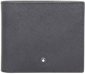 Montblanc Sartorial Leather Wallet - Dark Grey