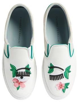 Chiara Ferragni Women's Flower Power Slip-On Sneaker