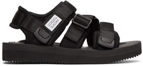 Suicoke Black Kisee Sandals