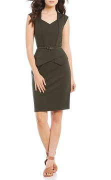 Antonio Melani Turner Peplum Dress
