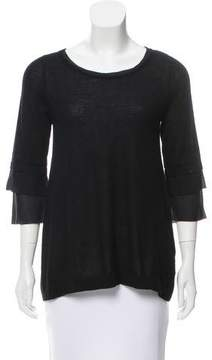 Christopher Fischer Cashmere Long Sleeve Top w/ Tags