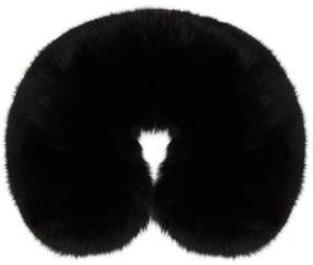 Yves Salomon Black Fur Collar