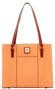 Dooney & Bourke Pebble Grain Small Lexington Shopper Bag - APRICOT - STYLE