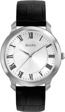 Bulova Quartz White Mens Watch 96A133