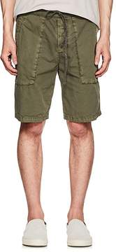 James Perse MEN'S WASHED COTTON DRAWSTRING SHORTS