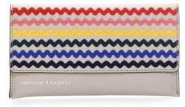 Loeffler Randall Everything Pebble Leather Wallet
