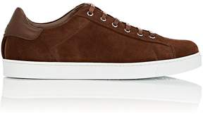 Gianvito Rossi Men's Suede Sneakers