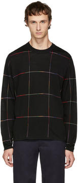 Paul Smith Black Grid Sweater