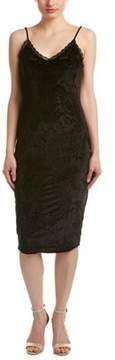 Eight Sixty Velvet Filigree Midi Dress.