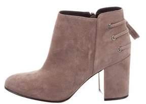 Rachel Zoe Lace-Up Ankle Boots