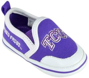 NCAA Baby TCU Horned Frogs Crib Shoes