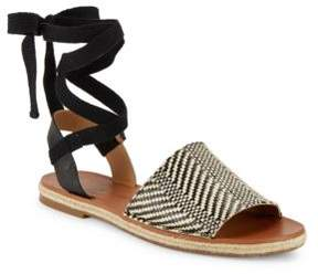 Lucky Brand Daytah Leather Sandals