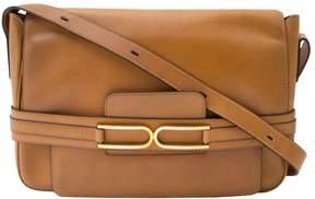 Delvaux Vintage Camel Leather Handbag