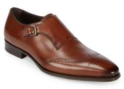 Mezlan Avery Monk Strap Leather Oxfords