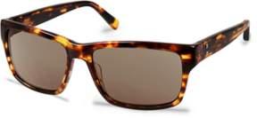 Cynthia Rowley Tobacco Round Plastic Sunglasses.
