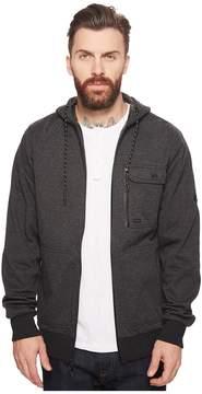 Billabong Quadrant Fleece Furnace Zip Hoodie Men's Sweatshirt