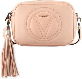 Mario Valentino Valentino By Mia Leather Tassel Crossbody Bag