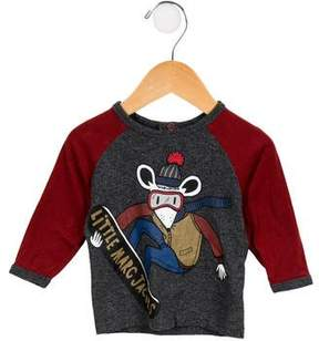 Little Marc Jacobs Boys' Long Sleeve Graphic Shirt