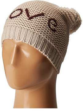 Hat Attack Motto Beanie with Faux Fur Pom Beanies