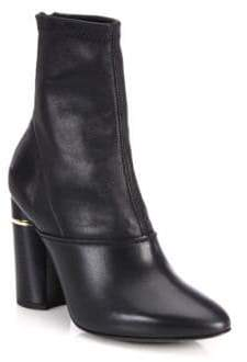 3.1 Phillip Lim Kyoto Leather Stretch Booties