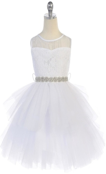 No Name Lace And Tull Dress