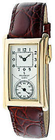 Peugeot Men's Vintage-Style Contoured Dial Doctor's Watch