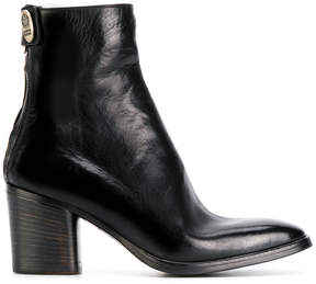 Alberto Fasciani mid heel ankle boots