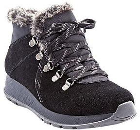 Bare Traps BareTraps Water-Resistant Lace-up Shoes with Faux Fur - Grazi