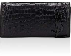 Saint Laurent Women's Smoking Clutch - BLACK - STYLE